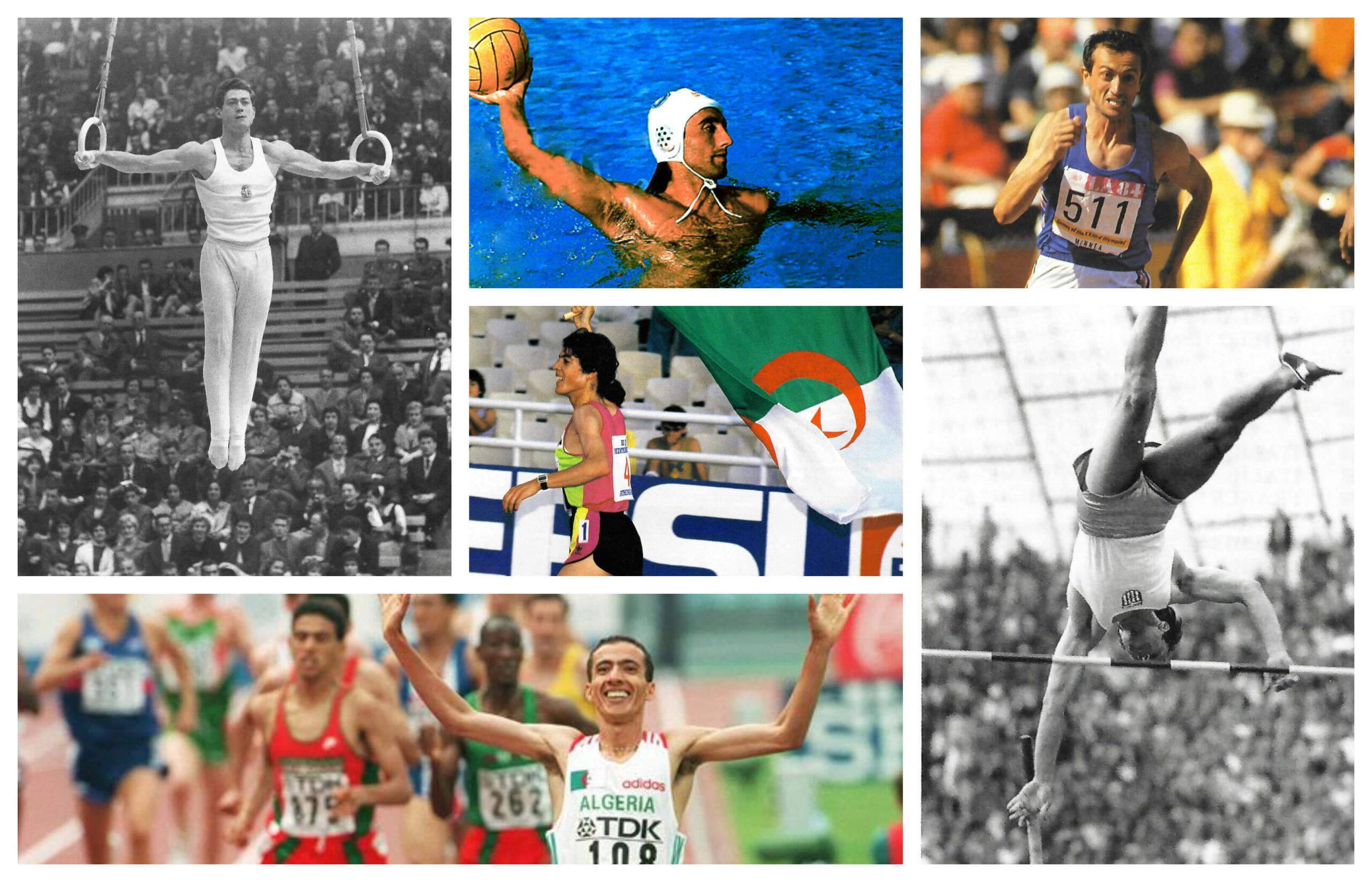 The Mediterranean Games history makers